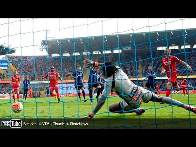 2015-2016 - Jupiler Pro League - 11. Club Brugge - KV Oostende 1-0