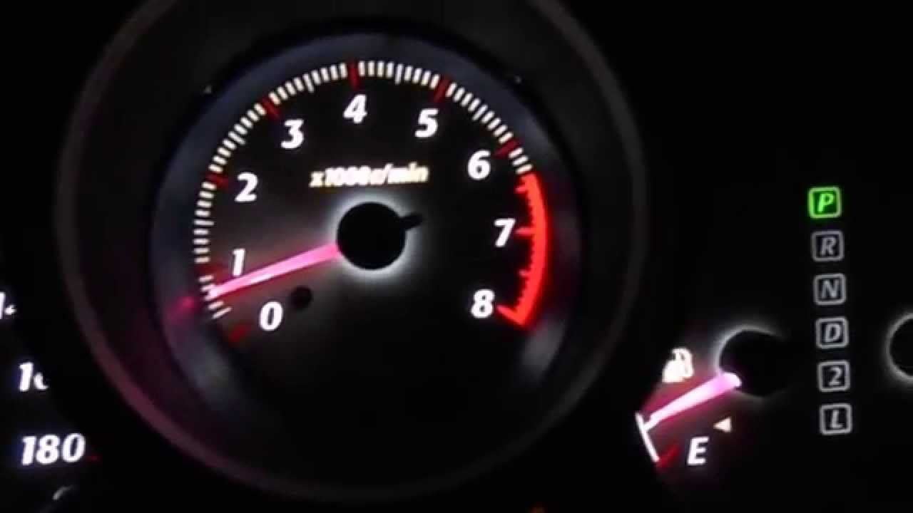Toyota RAV4 II (2001-2005) Dashboard Light Red Style