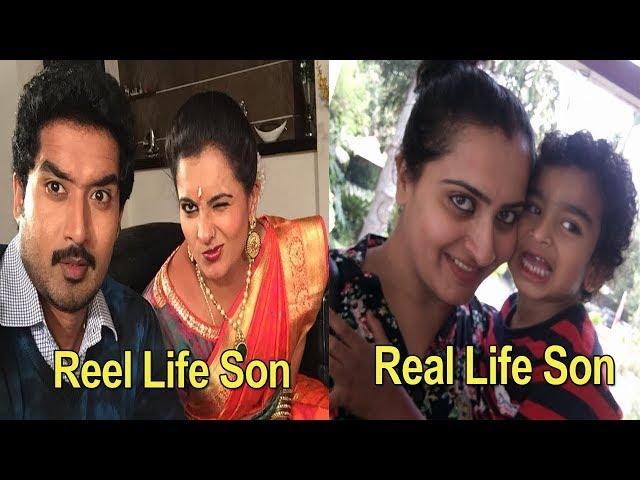 Real life Family Of Karthika Deepam Actress Soundarya  - 20th July 2018