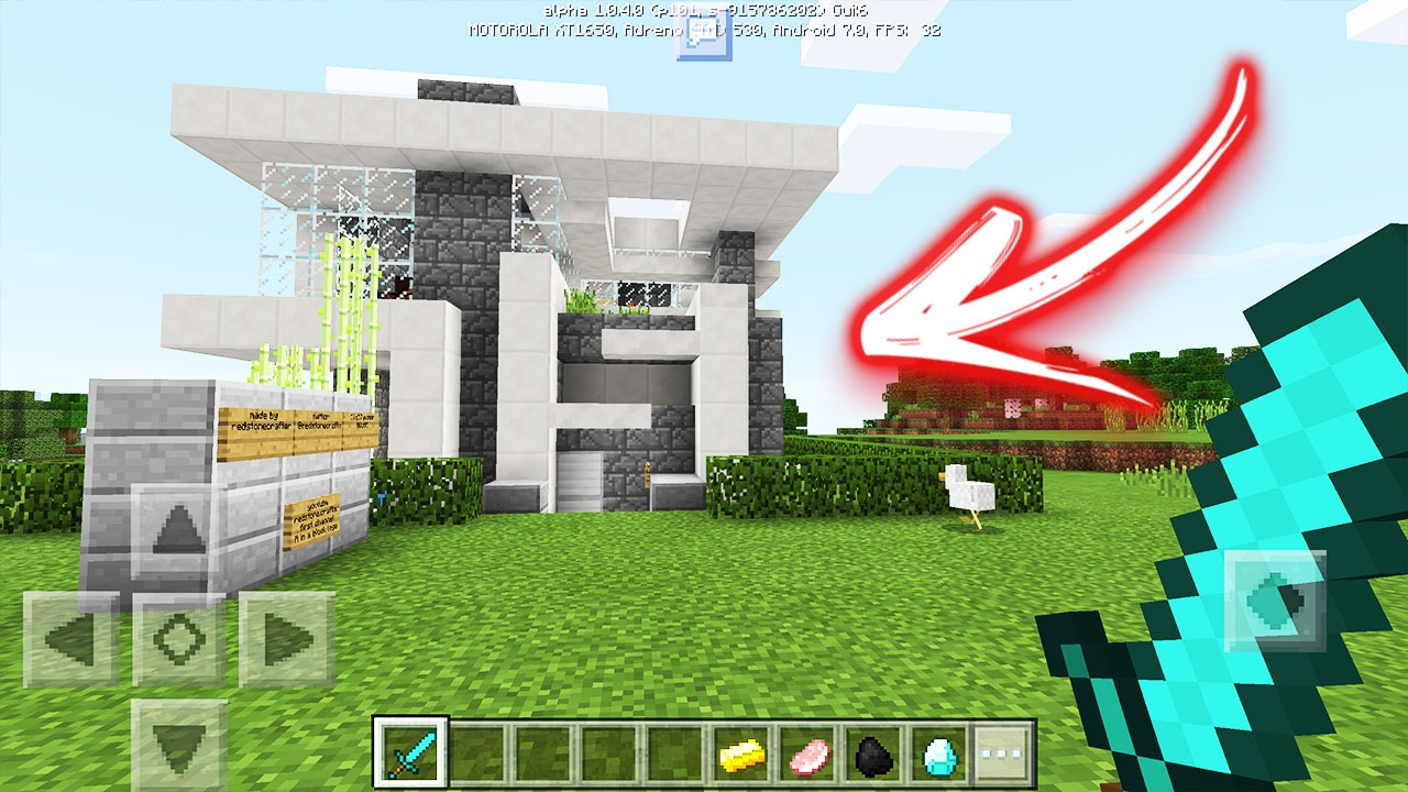 Saiu A Menor Casa Autom Tica Do Minecraft Pocket Edition