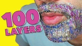 100 LAYERS OF BEARD GLITTER!!