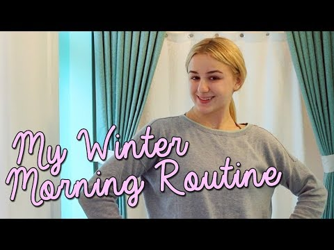 My Winter Morning Routine | Chloe Lukasiak