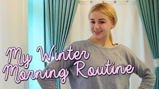morning routine winter