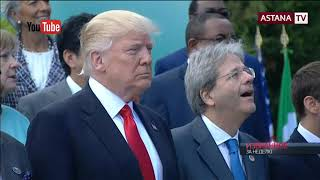 Трамп больше заботится о своей прическе чем о первой леди
