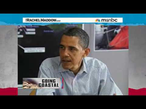 Florida tourism Gov haley on Oil Spill Rachel Maddow