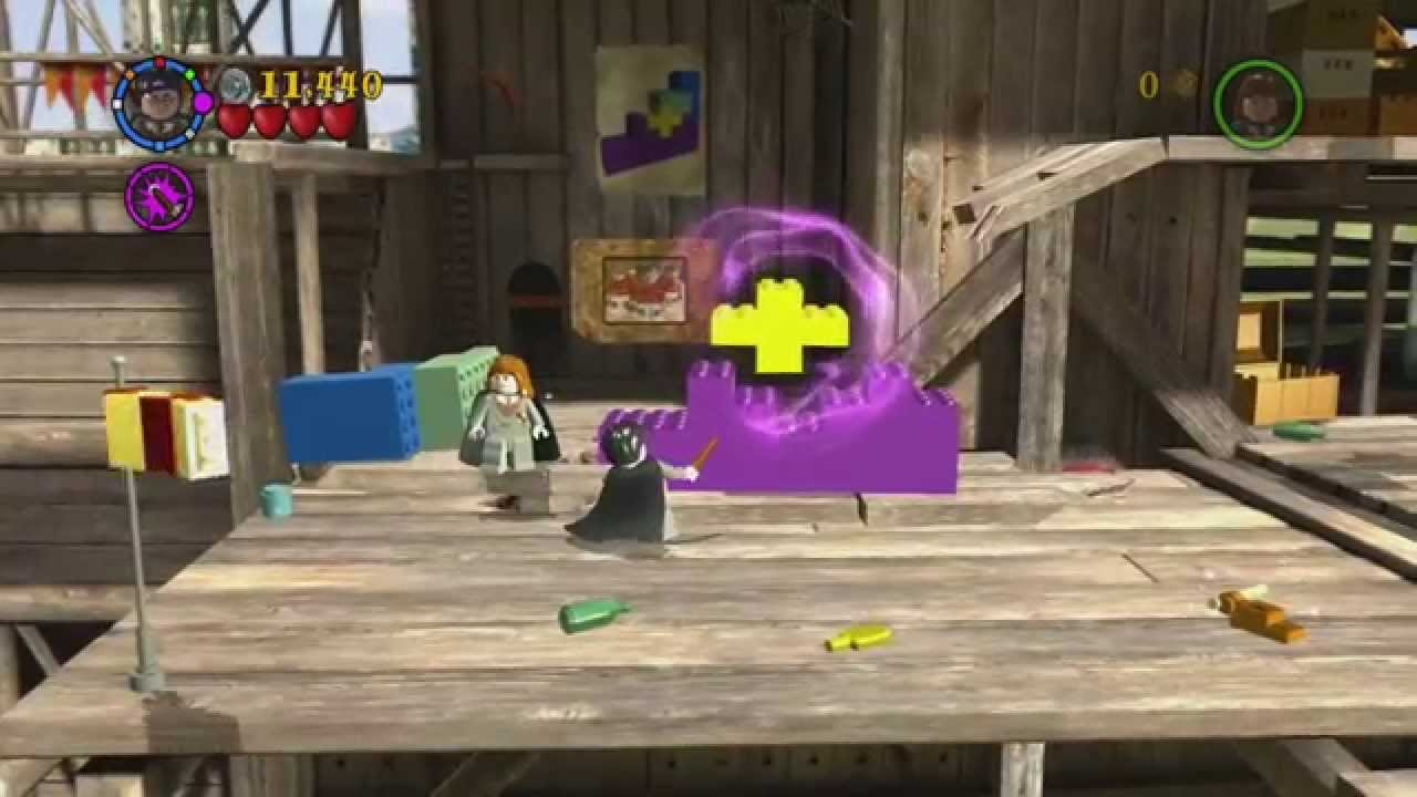 Lego Harry Potter Years 1 4 Year 1 Level 3 A Jinxed Broom House Crests Tokens Etc Youtube