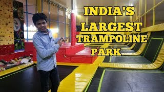 INDIA'S LARGEST TRAMPOLINE PARK IS NOW IN NOIDA