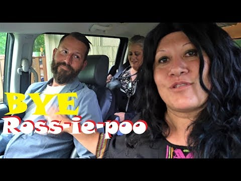 Tribe Member Leaving Saying Bye To Ross