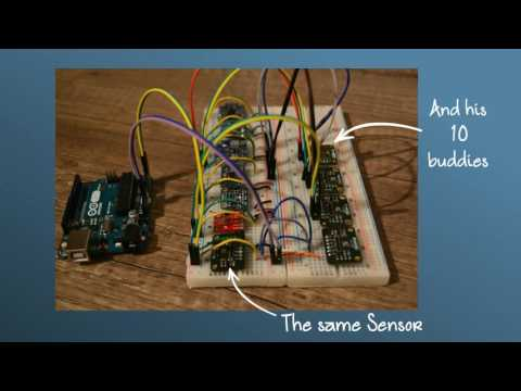 Connecting Arduino with multiple I2C devices