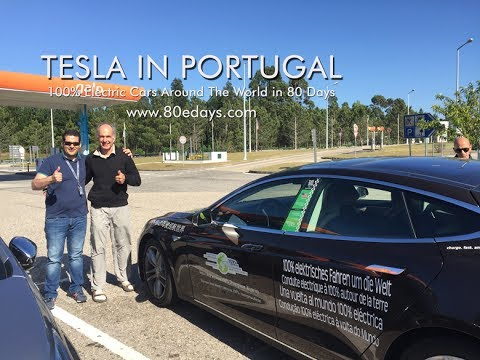 Electric Cars Around The World In Days Team Usa In