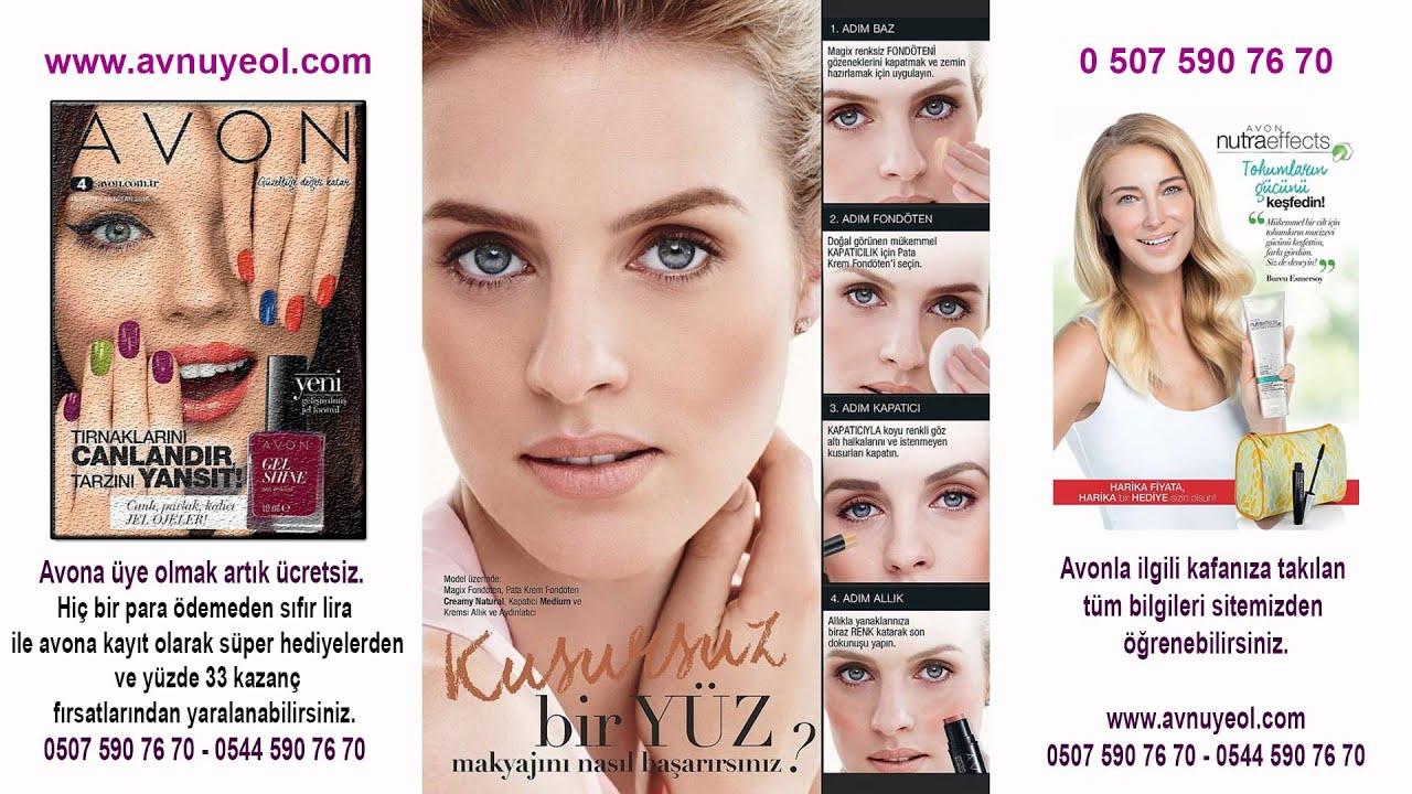 Avon Nisan 2016 Kataloğu - K4 2016 Avon katalog