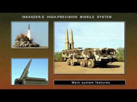 Iskander-E tactical ballistic missile system