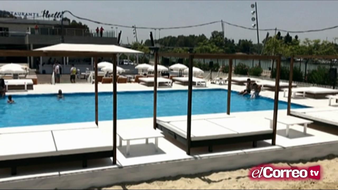 As es sevilla beach youtube for Piscine sevilla