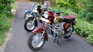 Jawa and Yezdi popular models in india ( for spare parts 9491220222)
