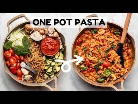 One Pot Pasta Recipe | EASY + Cozy