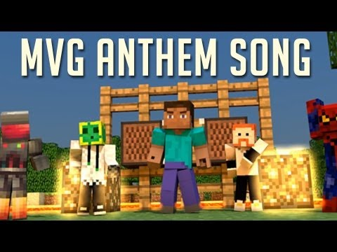"""""""MVG ANTHEM"""" - A Minecraft Valuable Gamer Song!  Free Download!"""