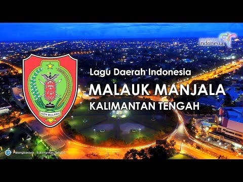 Malauk Manjala - Lagu Daerah Kalimantan Tengah (Karaoke dengan Lirik)