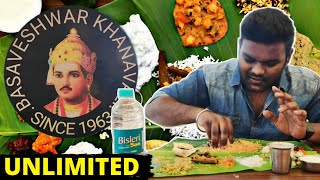 Basaveshwar Khanavali Best Uttarkarnataka Food Unlimited food in Bangalore Kannada Food Review