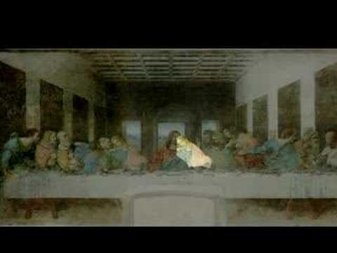 The Da Vinci Code Last Supper - YouTube