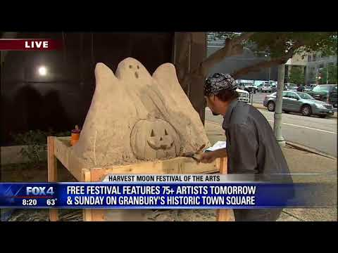 Granbury festival features sand sculptures