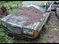 Забытые в лесу авто из 90- х