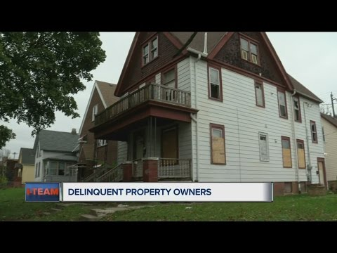 I-Team: Mayor supports city suing delinquent property owners