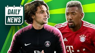 FC Bayern: Warum Boateng blieb & Rabiot kommt! 3. Europacup 2021! Messi vs. Ronaldo! Daily News