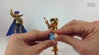 [Review] Aphrodite and DeathMask Saint Seiya Myth Cloth EX S-Temple METAL CLUB