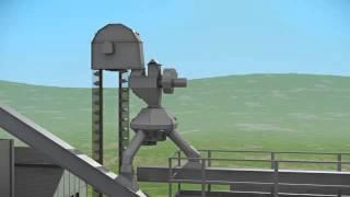 Нория зерновая НПЗ в оцинкованном и лакокрасочном исполнении
