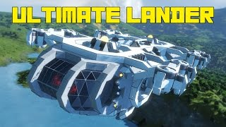 Space Engineers: Ultimate Lander, the HYDROLITE, Planet-to-Space Vehicle, 100% Vanilla