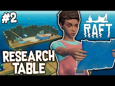 LEARNING ALL THE NEW ITEMS!! - THE RAFT! #2