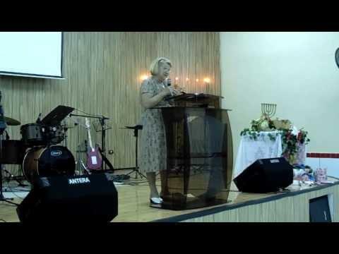 Peniel Vila Margarida   Encontro de Mulheres Hadassah   Pr  Rachel Neves Tel Aviv/Israel