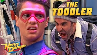 The Toddler Traps Kid Danger & Captain Man 😲| Henry Danger