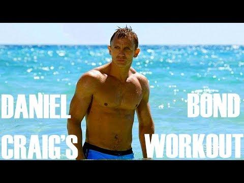 Казино Рояль Workout Daniel Craig для Бонда Body!