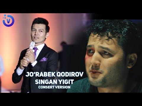 Jo'rabek Qodirov - Singan yigit | Журабек Кодиров - Синган йигит  (consert version)
