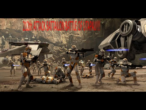 star wars glaxy at war mod battle at planet utapau awesome fire fight youtube. Black Bedroom Furniture Sets. Home Design Ideas