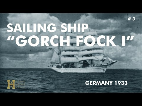 Germany 1933 ▶ Deutsche Reichsmarine Gorch Fock I (Segelschulschiff Sailing Ship)