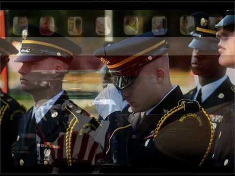 """Military Tribute """"Mariah Carey-Hero"""""""