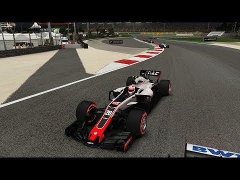 F1 2017 (2018 mod) Haas - Bahrain