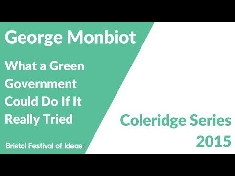 Coleridge Lectures 2015: George Monbiot