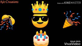 Birthday 🎊 Ahe Bhavacha # Happy Birthday Special Marathi # Whatsapp Status .... 🙏