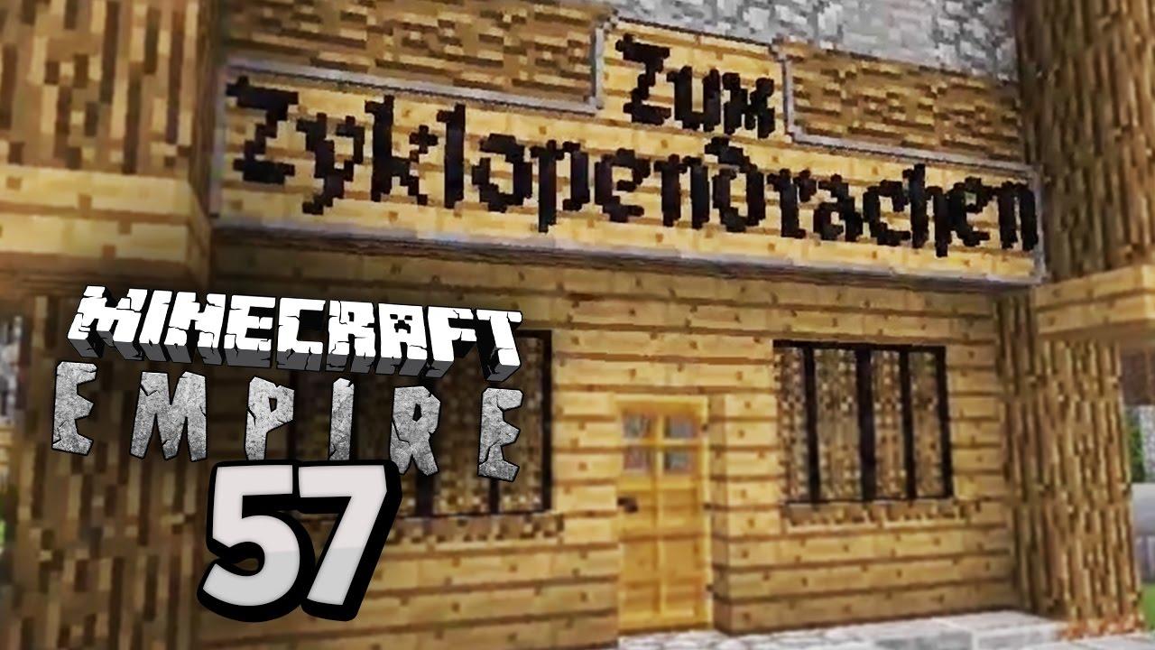 Die GEHEIME BRUDERSCHAFT Minecraft EMPIRE Mit Zinus Clym - Minecraft geheime hauser