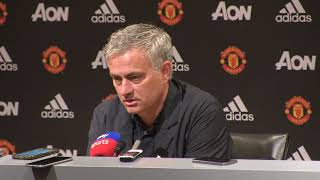 Mourinho: Wenger unlucky on final visit to Old Trafford