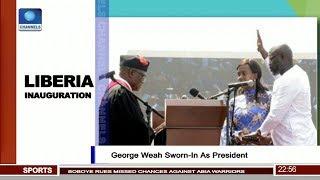 George Weah Sworn-In As President Pt.4  News@10  22/01/18