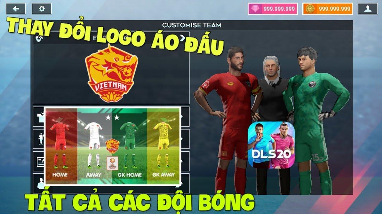 Cách thay đổi LOGO và ÁO ĐẤU tất cả các đội bóng trong Dream League Soccer 2020
