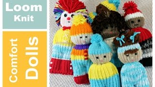 LOOM KNIT Comfort Dolls  Izzy Duzuza Softies and Pocket Pals | Loomahat
