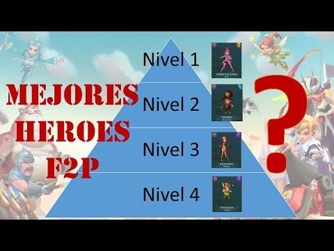 Lords Mobile ES - MEJORES Héroes F2P
