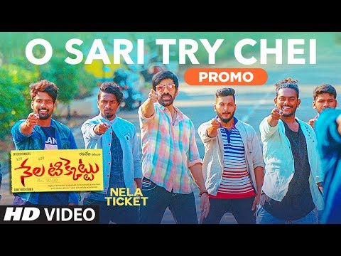 O Sari Try Chei Video Song Promo || Nela Ticket Songs || Ravi Teja, Malvika, Shakthikanth Karthick