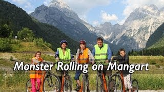 Monster Rolling on Mangart Mountain, Julian Alps, Slovenia