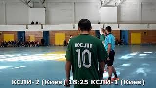Гандбол. КСЛИ-1 (Киев) - КСЛИ-2 (Киев) - 35:35 (2-й тайм). Детская лига, г. Киев, 2001-02 г. р.